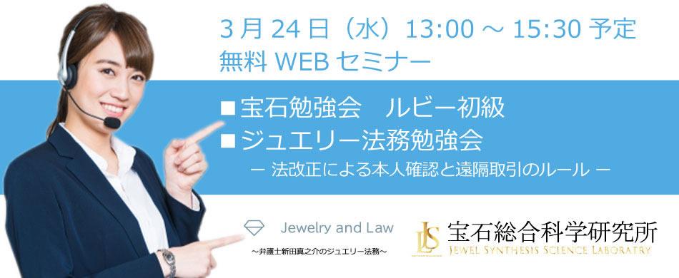 無料WEBセミナー(2021年3月24日開催) お申し込みフォーム