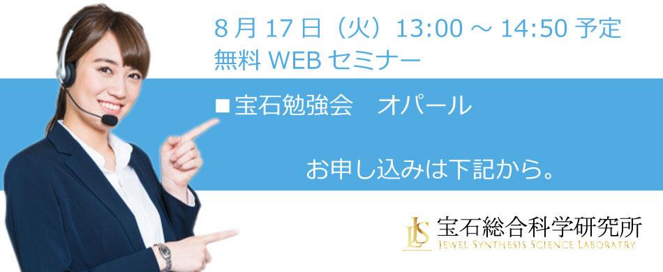 無料WEBセミナー(2021年8月17日開催) お申し込みフォーム